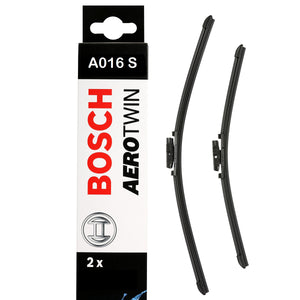 Bosch Front Windscreen Wiper Blades Aerotwin 550mm+550mm A016S
