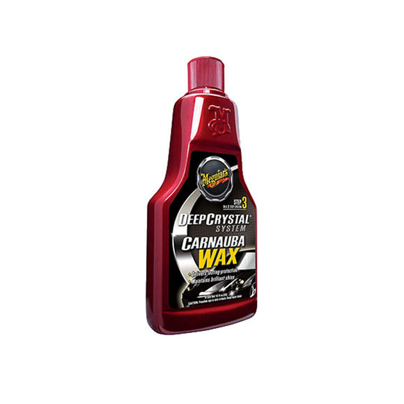Meguiar's Deep Crystal Step 3 Wax-Liquid 473ml