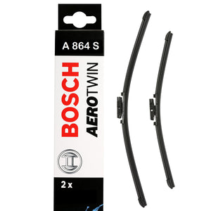 Bosch Front Windscreen Wiper Blades Aerotwin 650mm+450mm A864S