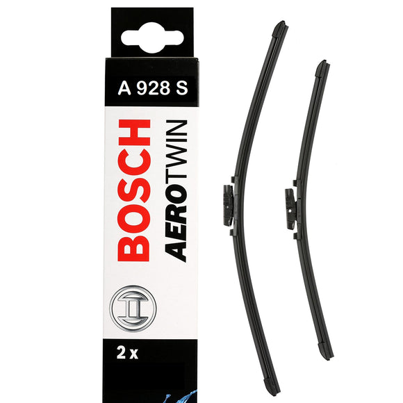 Bosch Front Windscreen Wiper Blades Aerotwin 530mm+475mm A928S