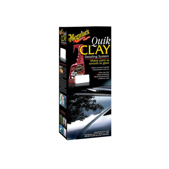 Meguiar's Quik Clay Detailing Kit 473ml & 80g