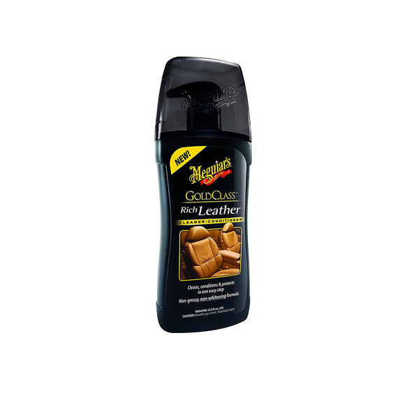 Meguiar's Gold Class Rich Leather Cleaner & Conditioner 400ml