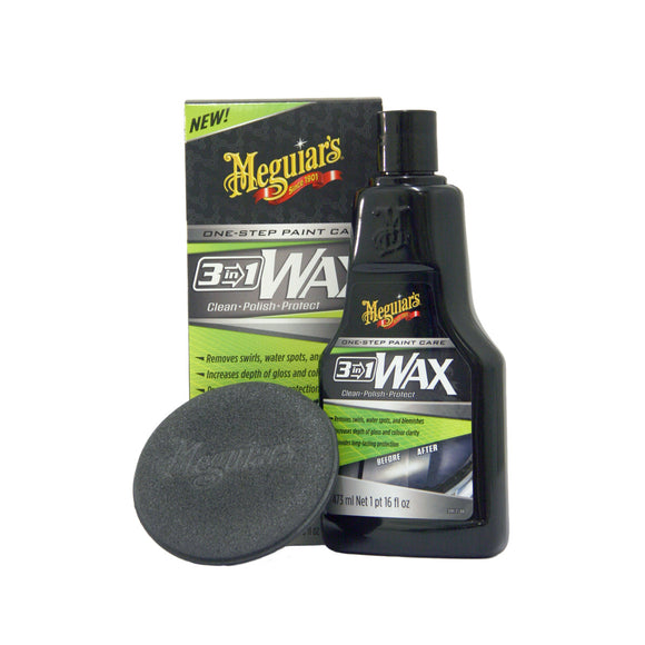 Meguiar's 3-in-1 Wax 473ml
