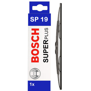 "Bosch Front Windscreen Wiper Blade Super Plus 475mm/19"" SP19"