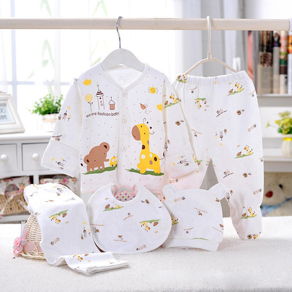 5-piece Newborn Pajama Set