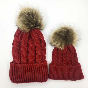 Matching Knit Hats
