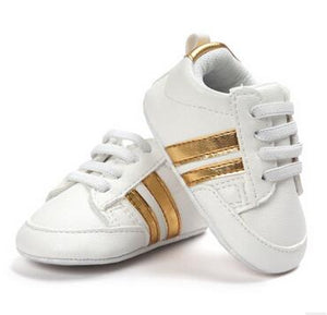 Soft-Soled Baby Sneakers