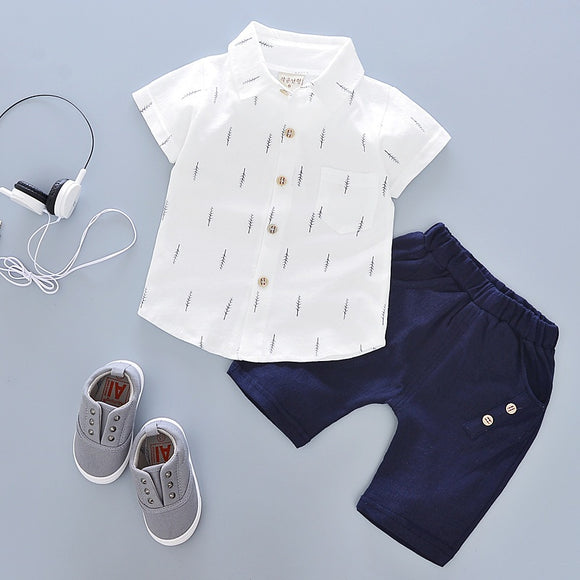 Casual Shorts Set