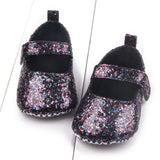 Sequin Infant Soft Sole Shoes