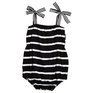 Striped Beach Romper