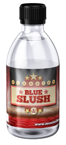 Blue Slush Monster Bottle