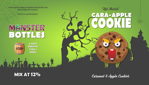 Cara-Apple Cookie Monster Bottle