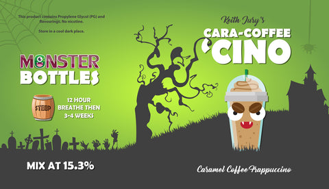 Cara-Coffee 'Cino Monster Bottle