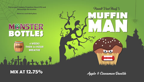 Muffin Man Monster Bottle