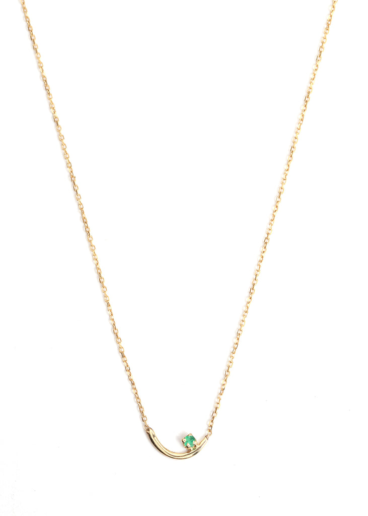 Emerald Arc Lineage Necklace - Melissa Joy Manning Jewelry