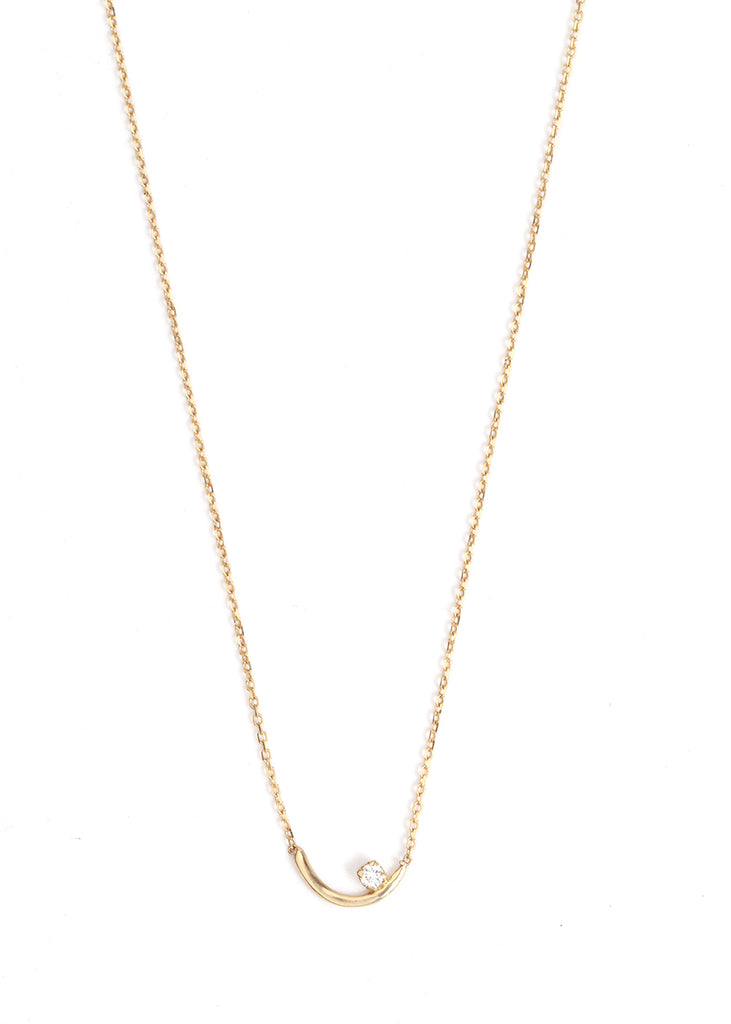 Diamond Arc Lineage Necklace - Melissa Joy Manning Jewelry