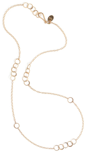Chain necklace with small link detail - Melissa Joy Manning Jewelry
