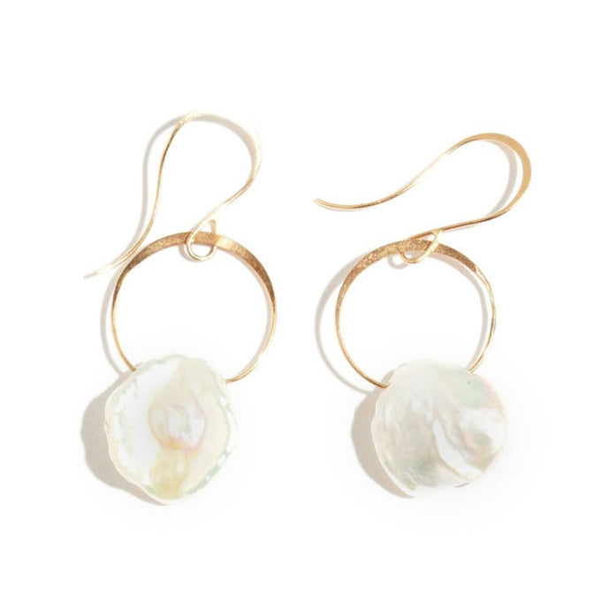 Pearl Drop Earrings - Melissa Joy Manning Jewelry