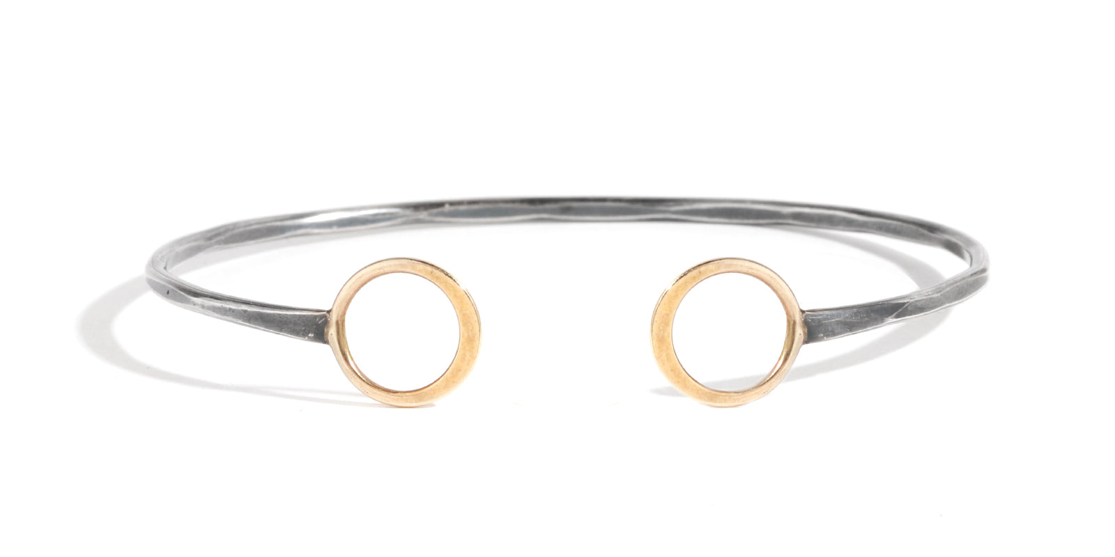 Double Circle Cuff - Melissa Joy Manning Jewelry