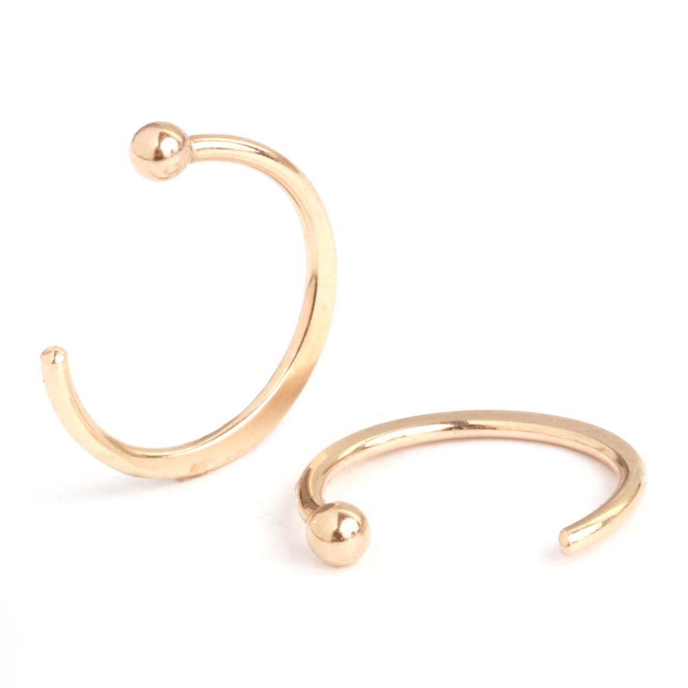 Hug hoops - Melissa Joy Manning Jewelry