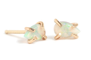 Marquis Opal Stud Earrings - Melissa Joy Manning Jewelry