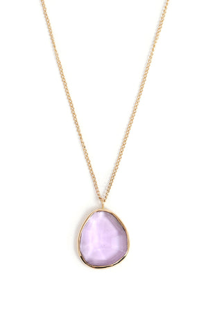 Freeform Amethyst Necklace - Melissa Joy Manning Jewelry