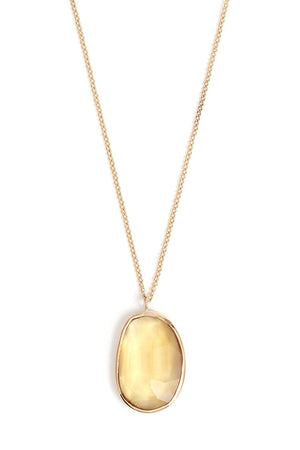Freeform Citrine Necklace - Melissa Joy Manning Jewelry