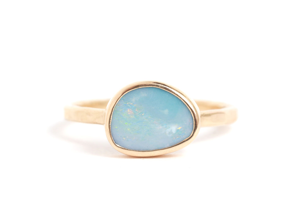 Freeform Opal Ring - Melissa Joy Manning Jewelry