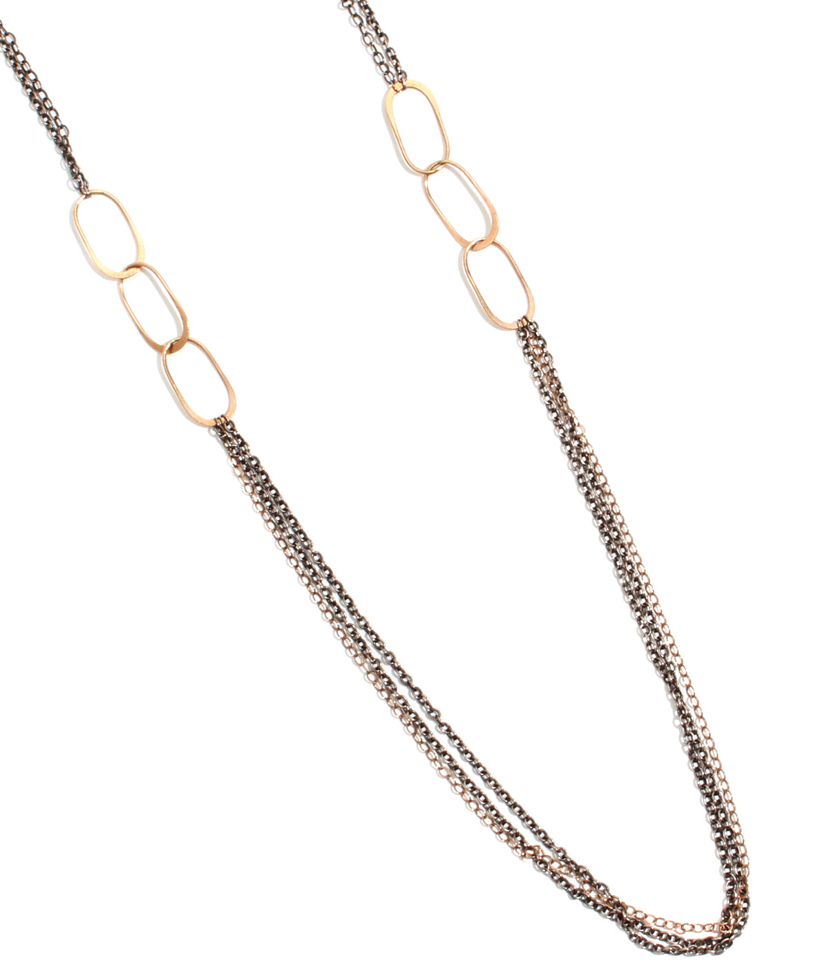 Oval link accent 28 inch chain