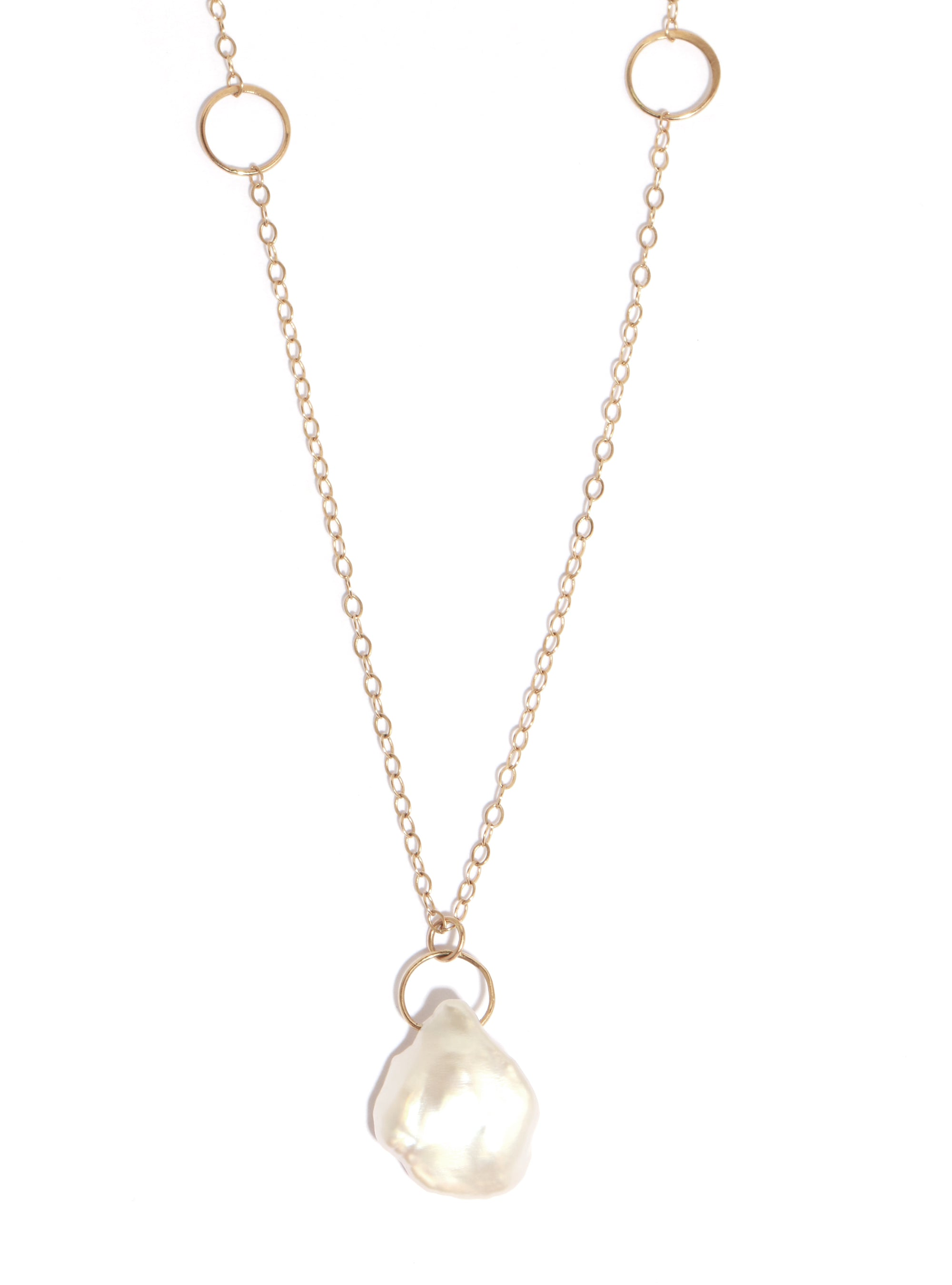 Pearl Drop Necklace - Melissa Joy Manning Jewelry