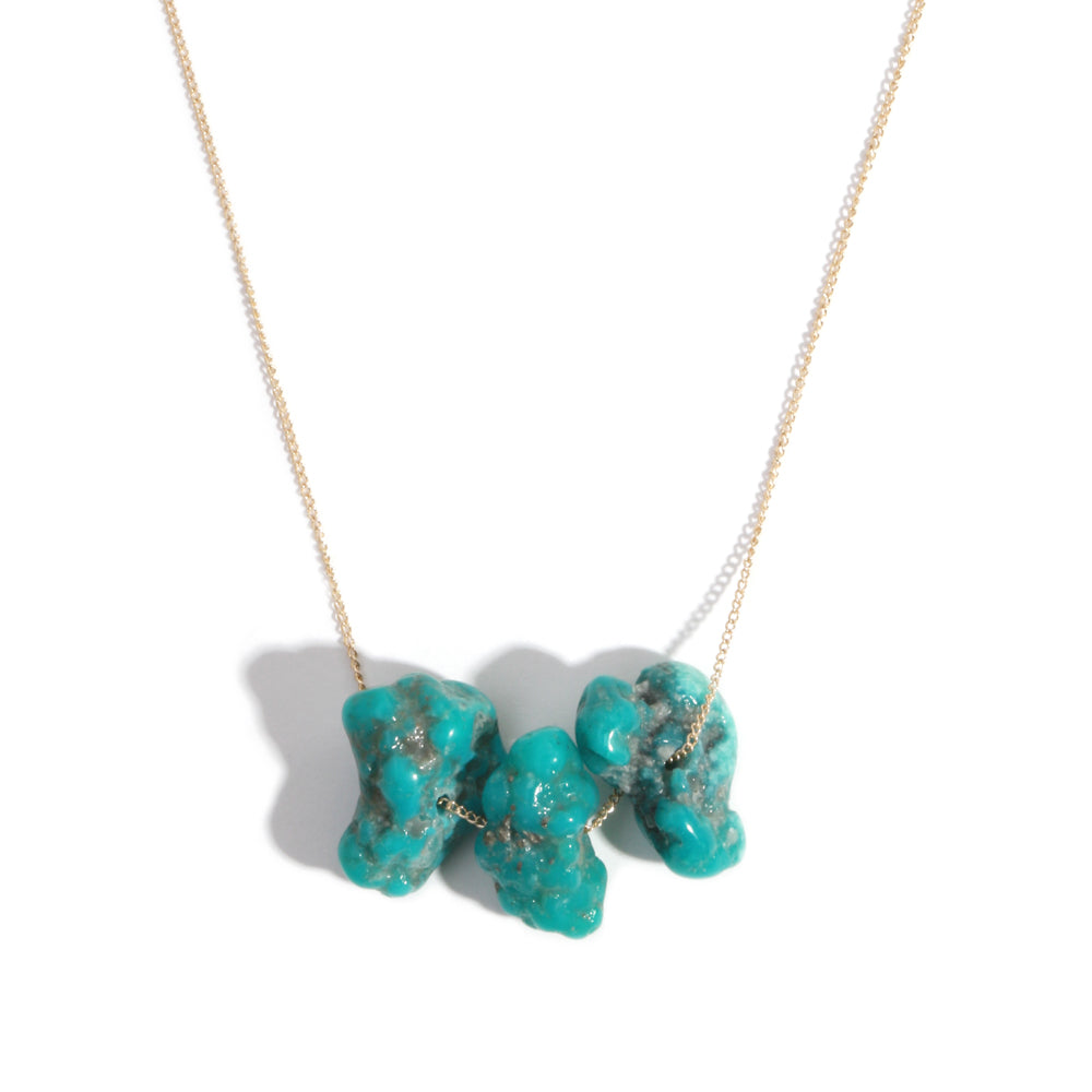Campitos Turquoise Necklace - Melissa Joy Manning Jewelry