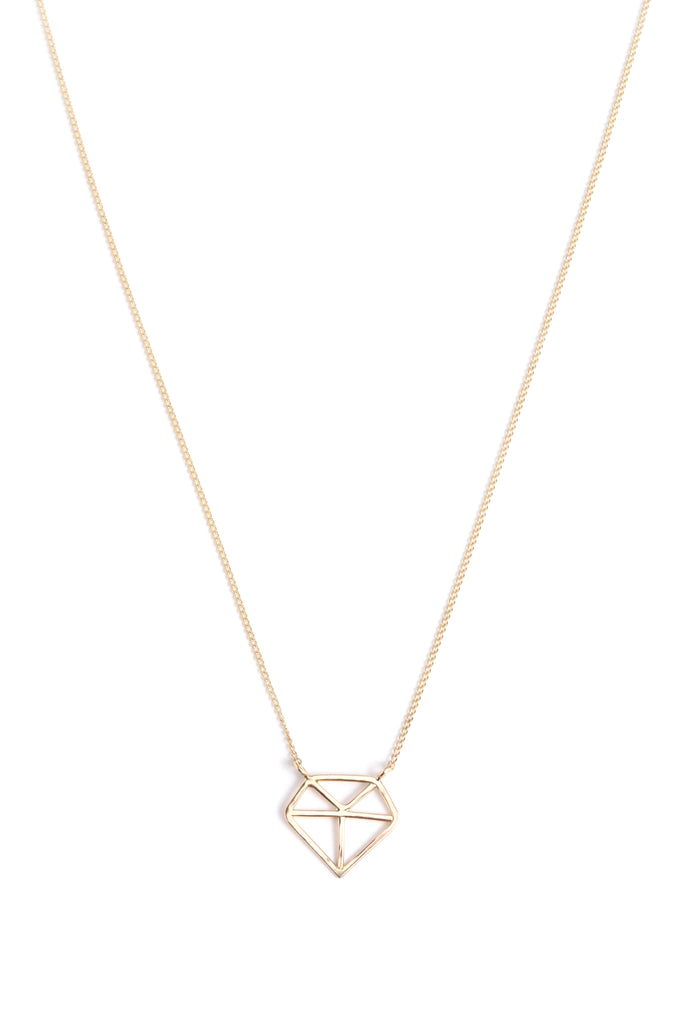 Diamond Shape Necklace - Melissa Joy Manning Jewelry