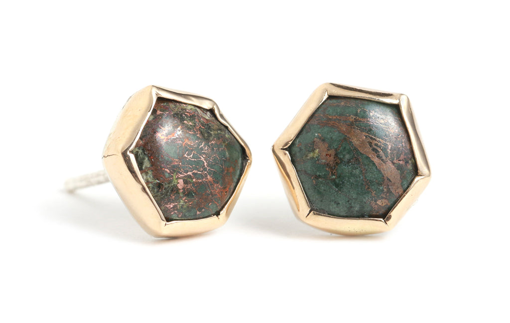 Native Copper Stud Earrings