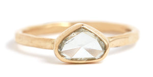 Rosecut Heart Diamond Ring - Melissa Joy Manning Jewelry