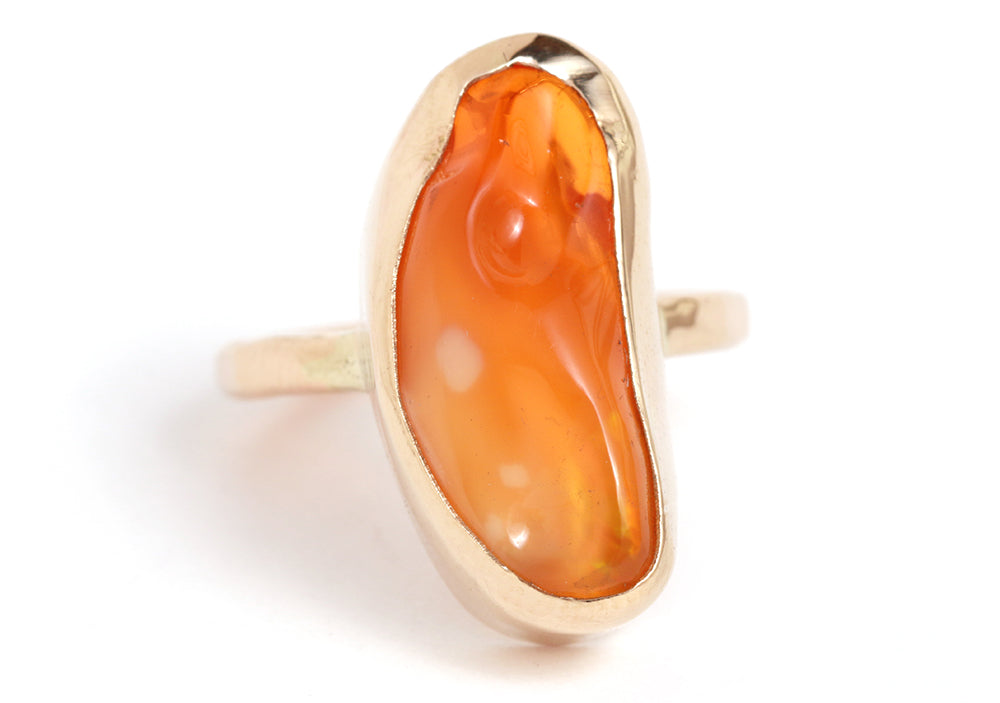 Mexican jelly opal ring - Melissa Joy Manning Jewelry