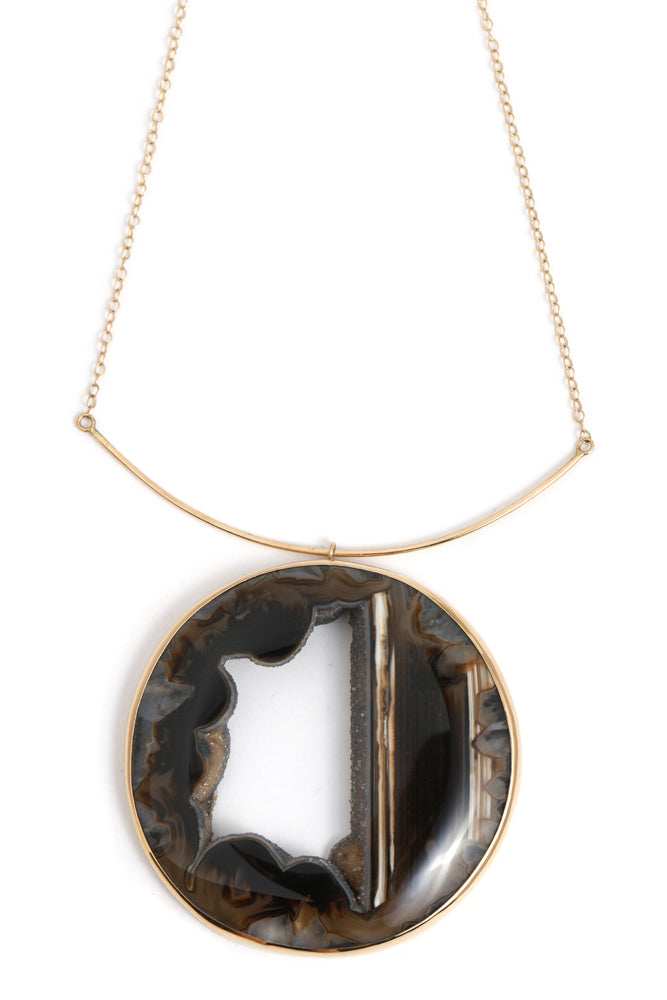 Brazilian Agate Collar Necklace