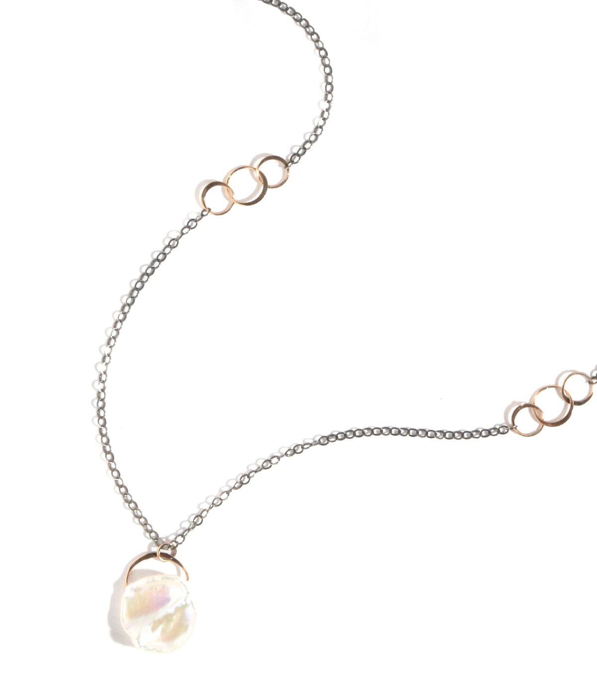 Pearl single drop necklace - Melissa Joy Manning Jewelry