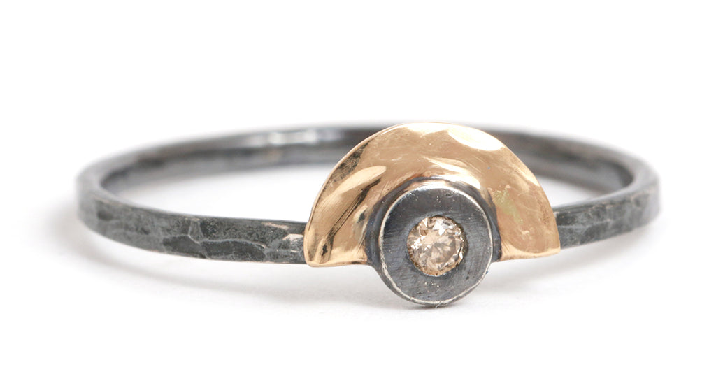 Nesting Diamond Ring - Melissa Joy Manning Jewelry