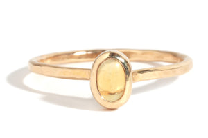 Citrine Ring - Melissa Joy Manning Jewelry