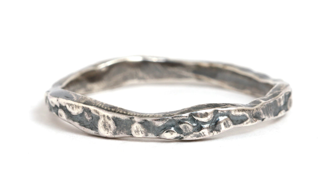 Stingray Stacking Ring - Melissa Joy Manning Jewelry