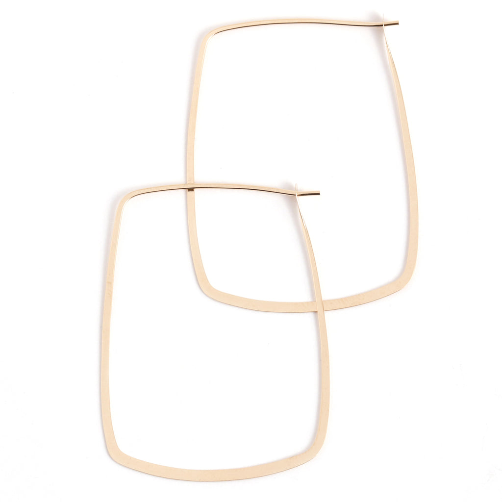 Square Hoops - 1.5 inch - Melissa Joy Manning Jewelry