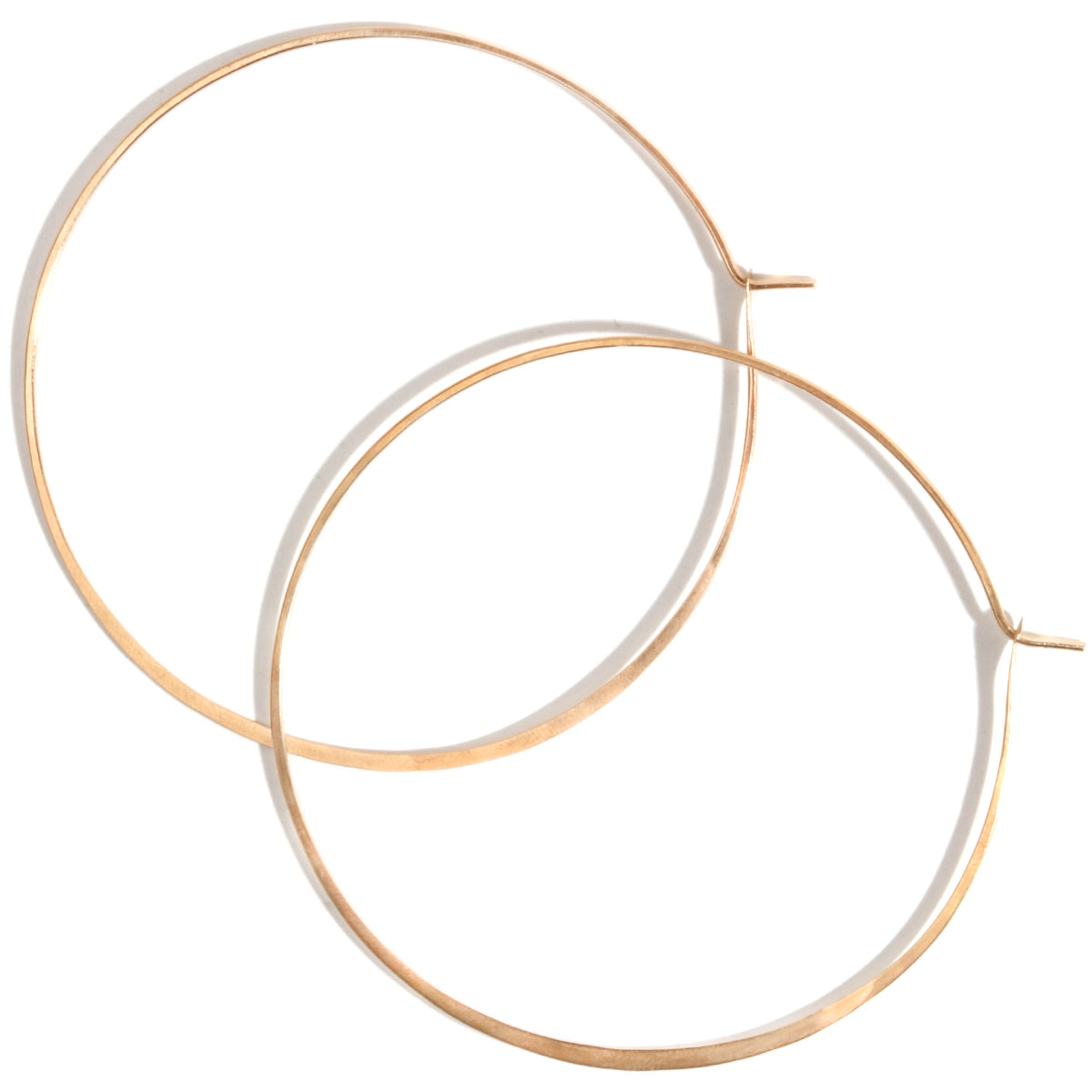 2.75 Inch Soup can hoops - Melissa Joy Manning Jewelry