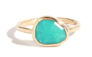 Turquoise ring - Melissa Joy Manning Jewelry
