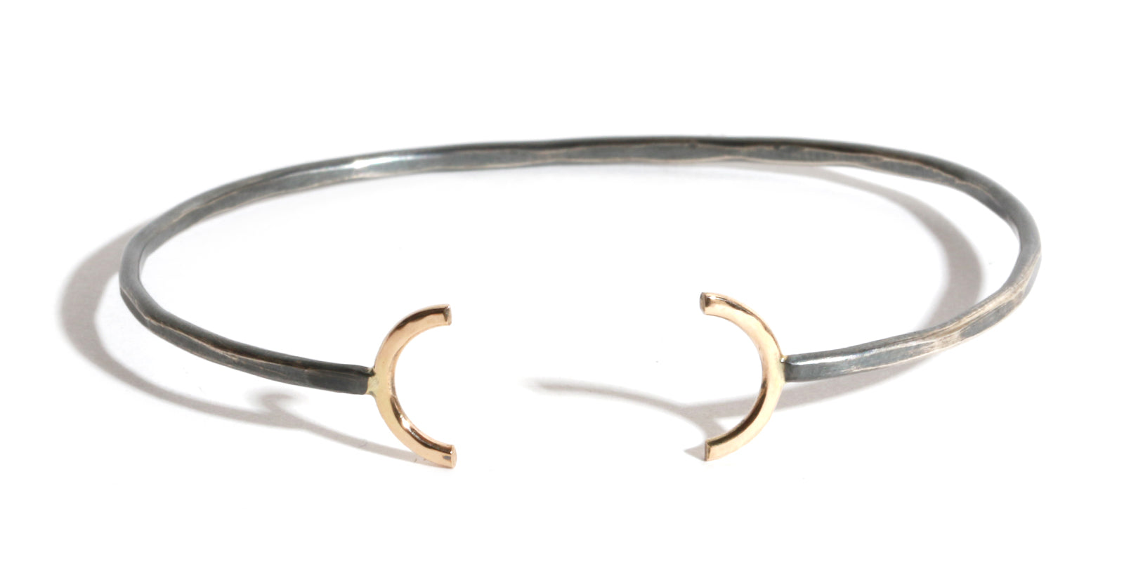 Open Semi Circle Cuff - Melissa Joy Manning Jewelry
