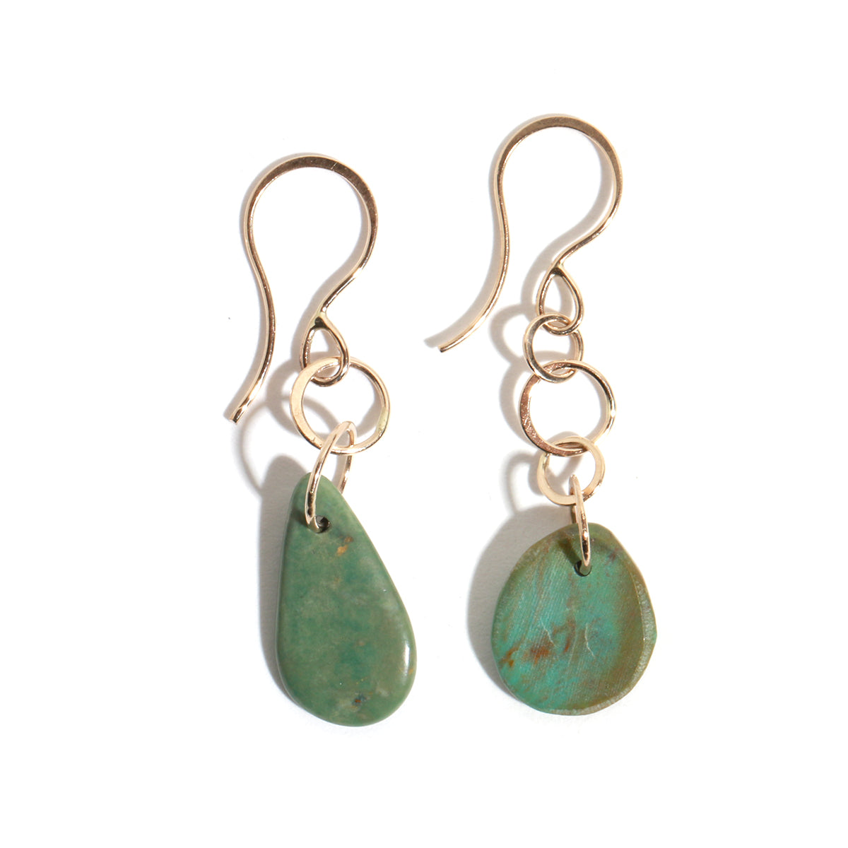 Campo Frio Turquoise Drop Earrings - Melissa Joy Manning Jewelry