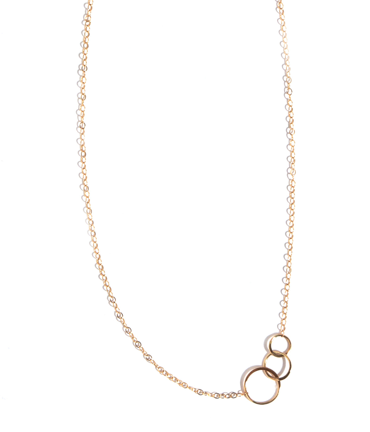 Graduated circle necklace - Melissa Joy Manning Jewelry