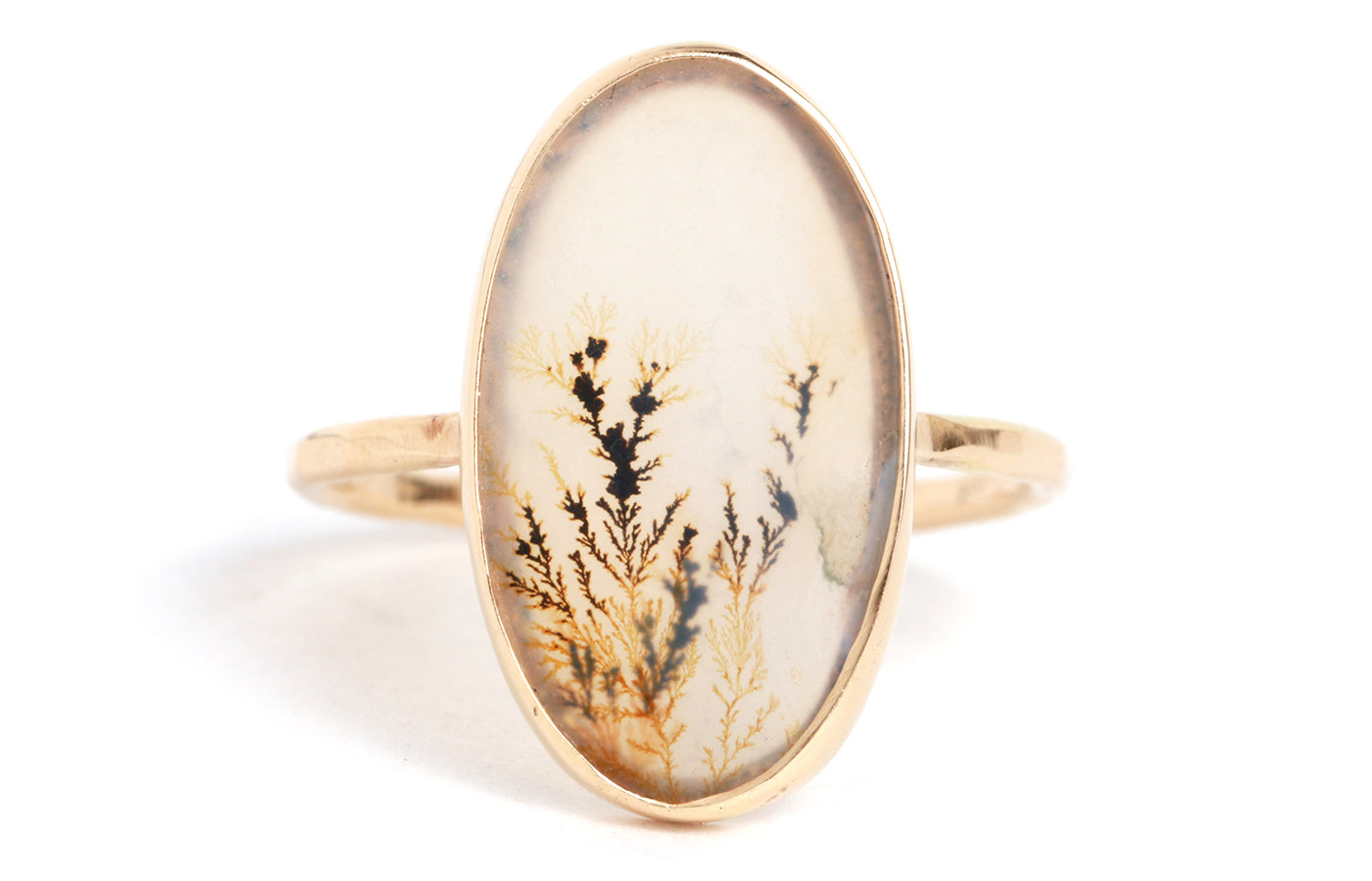 Dendritic Agate Ring - Melissa Joy Manning Jewelry