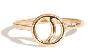 Crescent Ring - Melissa Joy Manning Jewelry
