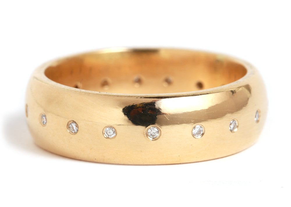 Half Dome Diamond Band - Melissa Joy Manning Jewelry