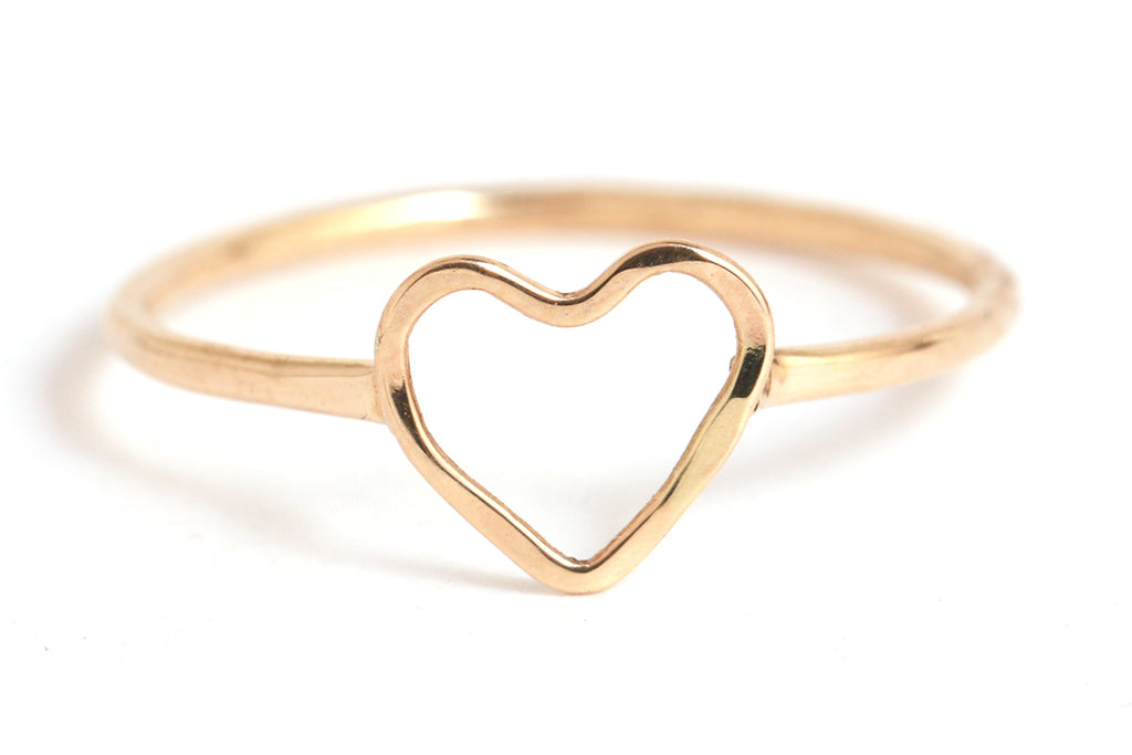 Heart Ring - Melissa Joy Manning Jewelry
